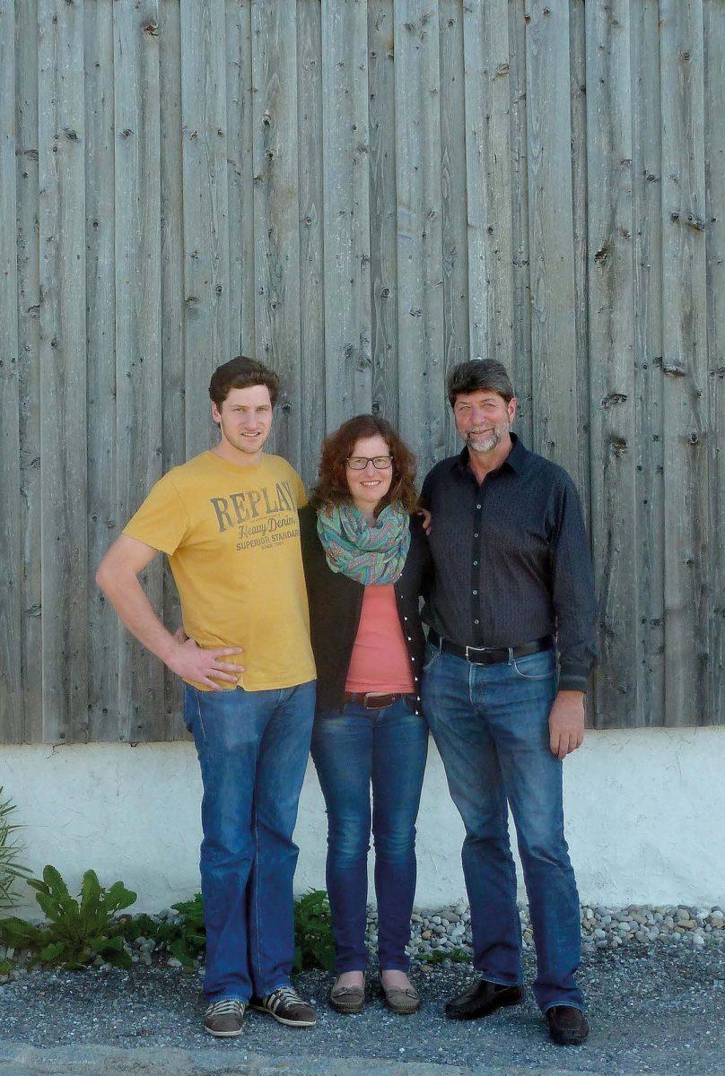 Hans, Irmi und Manfred Epp, der Kern des EM-Technologiezentrums Süd