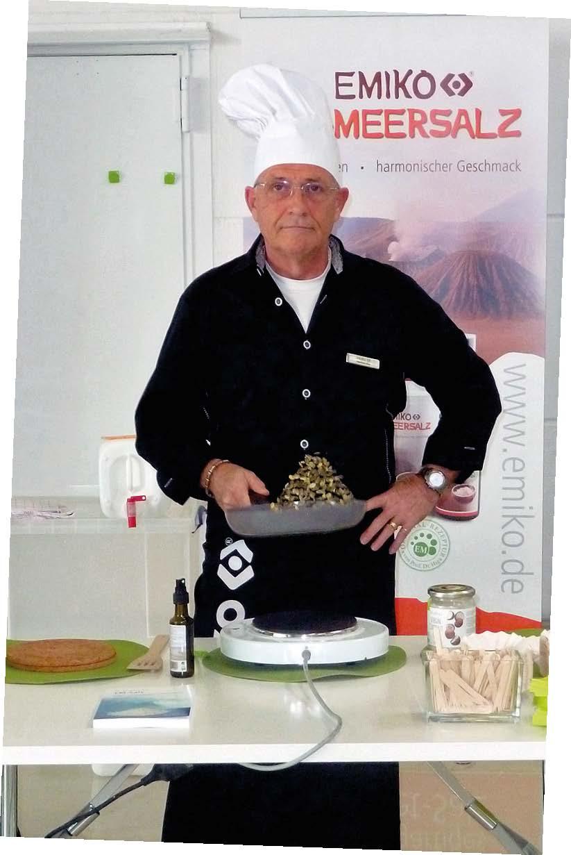 Chefkoch Reinhard Mau