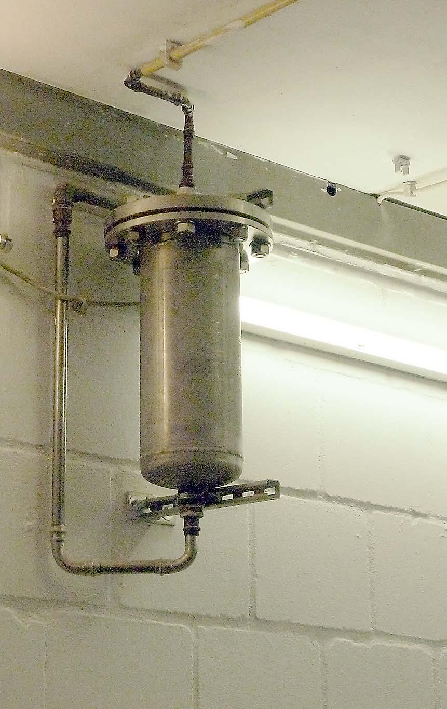 Das erste 3 Quellen-Wasseraufbereitungs-Aggregat versorgt den Betrieb seit über 10 Jahren mit feinstem Wasser.