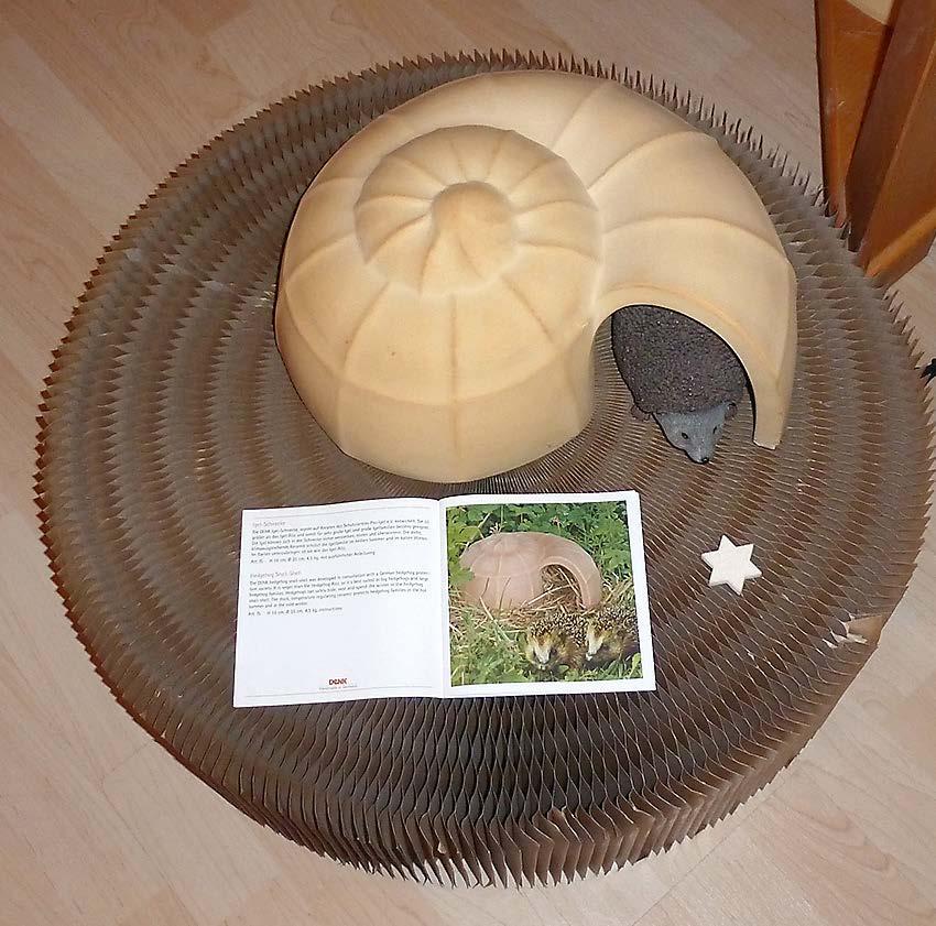 Keramik für den Tier- und Naturschutz: Igelburg...