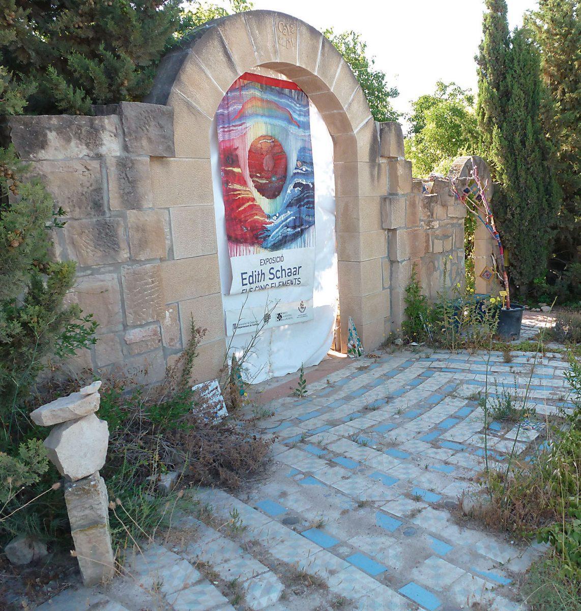 Das Eingangstor zur Edith Schaars L'Illa Verda
