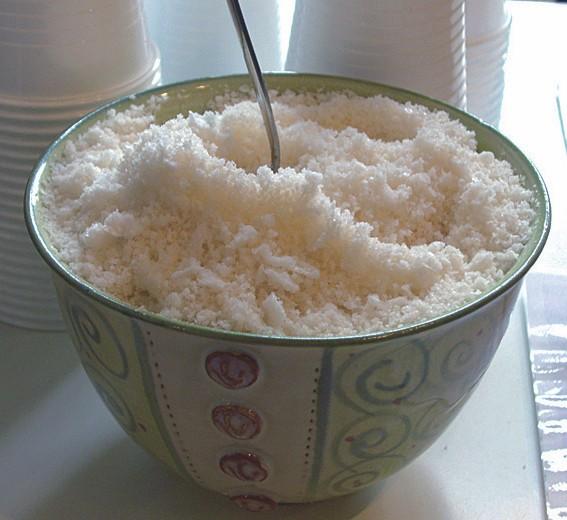 EM-Salz in getrockneter Form