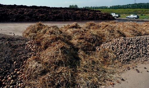 Basis der erfolgreichen EM-Biolandwirtschaft: Der Kompostplatz
