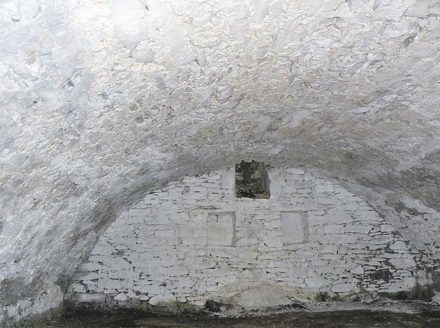 Kellergewölbe nach Sanierung