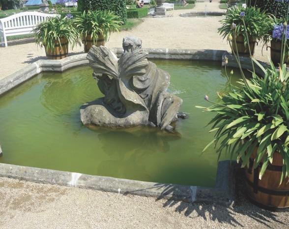 Sandstein Skulptur