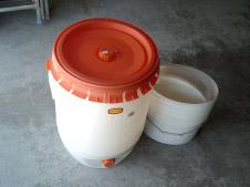 60 L Sauerkrautfass