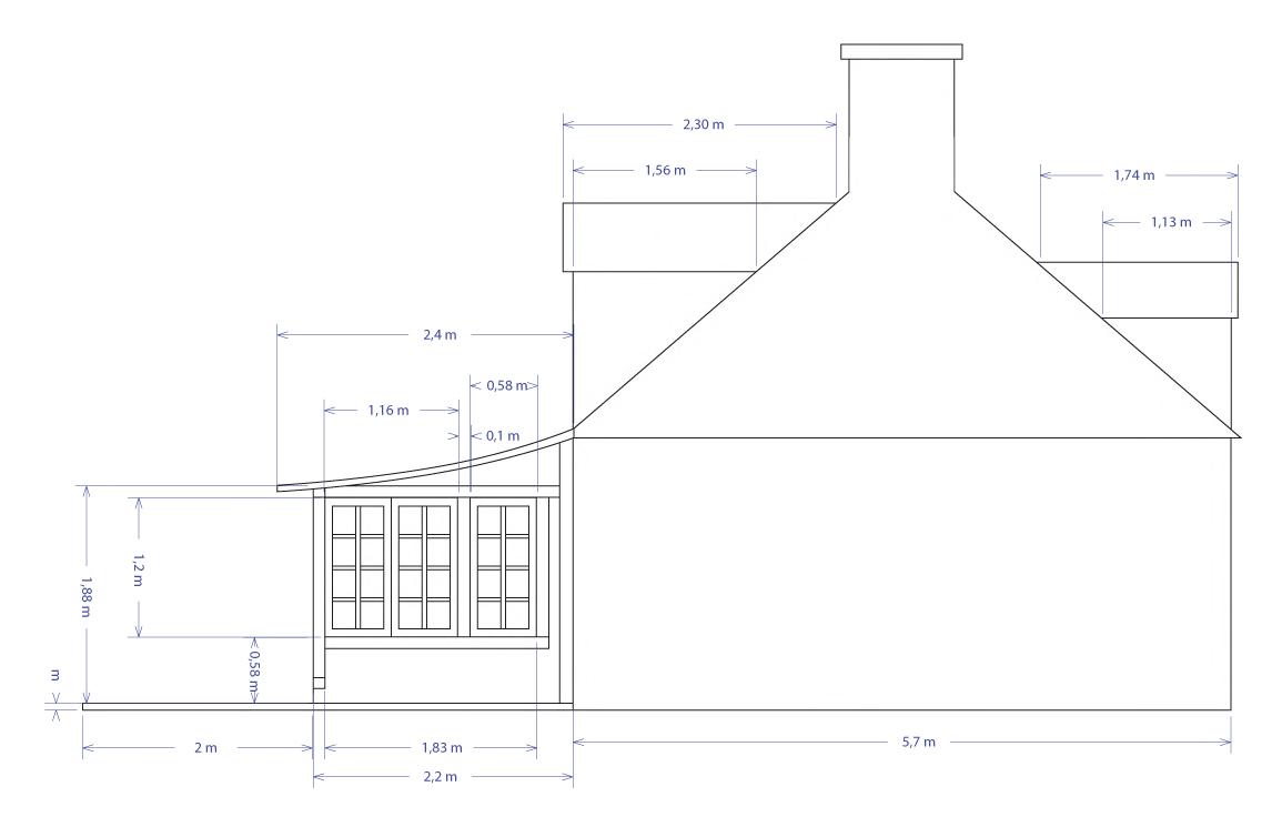 Ausbaupläne für das kleine bretonische Haus