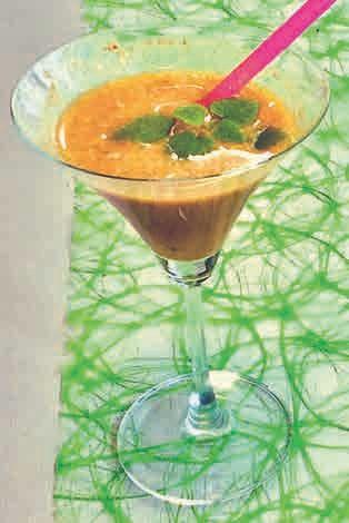 Der alkoholfreie Kurkuma-Cocktail