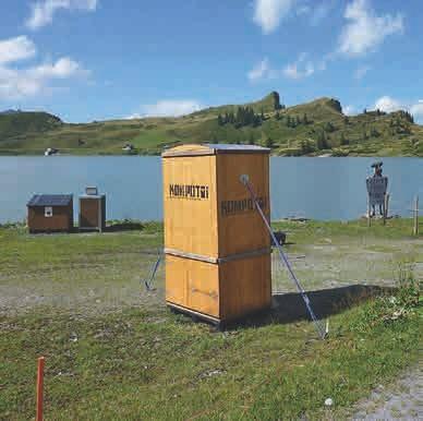 Natur zu Natur: Mit Komposttoiletten wird ein natürlicher Nährstoffkreislauf geschlossen.
