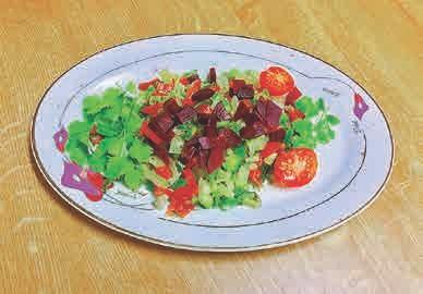 Der Rote Beete-Birnen-Salat