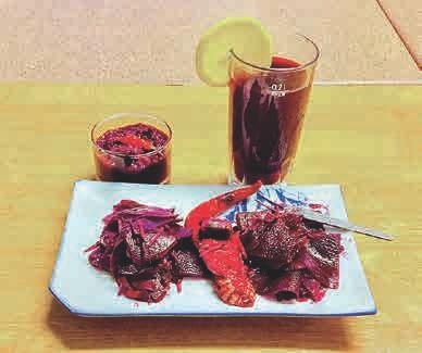 Gewürzpaste und Rote- Beete- Saft (Digestiv – gut für Magen und Darm)