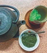 Brennesselpaste und -Tee