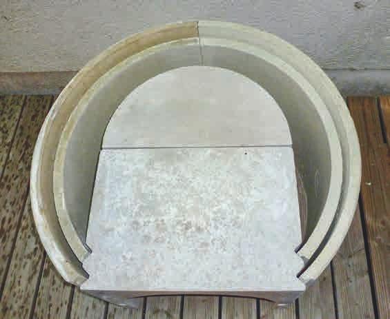 Das besondere Material und die ausgeklügelte Formgebung ermöglichen eine dünne Hülle, die schnell die Umgebung aufheizen kann.