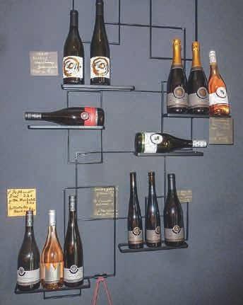 Eine Auswahl von Weinen und Sekt des Weinguts