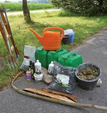 Material für die Baumbehandlung