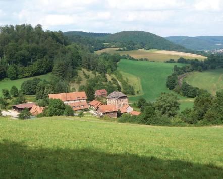 Gut Wellingerode im nordöstlichen Hessen