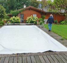Stabile Folie zur Pool-Abdeckung