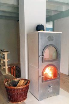 Wärme vom Römerofen in der Werkstatt