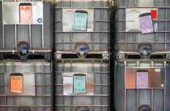 Lagerung versch. Fermentationen in 1000 L-Containern