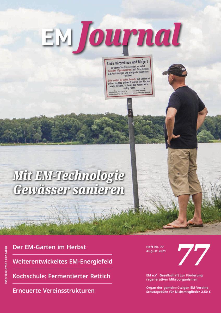 EM-Journal 77, Titelseite